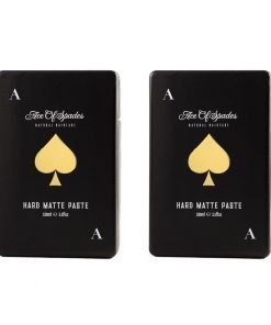 2-pack Ace of Spades Natural Haircare Hard Matte Paste 100ml