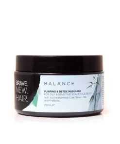 Brave. New. Hair. Balance Purifying & Detox Mud Mask 250ml