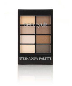 Beauty UK Eyeshadow Palette no.1 - Natural Beauty