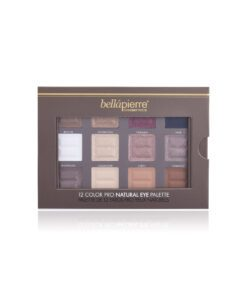 Bellapierre 12 Color Pro Natural Eye Palette