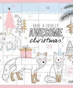 Zmile Cosmetics Advent Calendar Puzzle Awesome Christmas