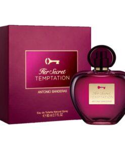 Antonio Banderas Her Secret Temptation edt 80ml