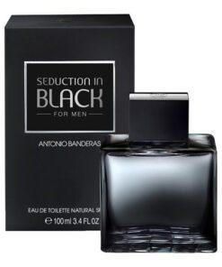 Antonio Banderas Seduction in Black Edt 100ml