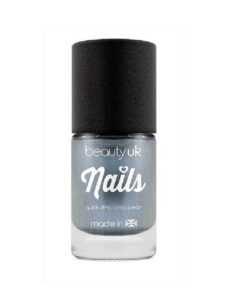 Beauty UK Chrome Nail Polish - Blue