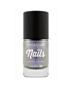 Beauty UK Chrome Nail Polish - Silver